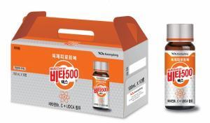 광동제약, 카페인 없는 육체피로회복제 '에너지비타500맥스' 선봬