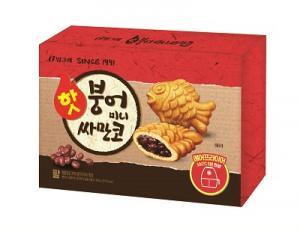 빙그레 '핫붕어 미니싸만코' 2종 출시
