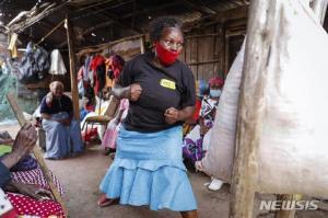 케냐 할머니들 성범죄에 맞서려 태권도 배운다